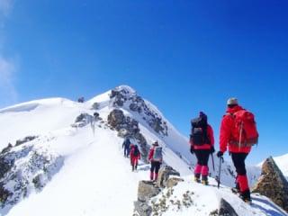 冬山や雪山の登山装備の注意点